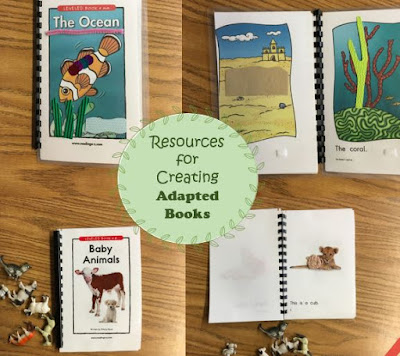 Resources for Creating Adapted Books in Special Education