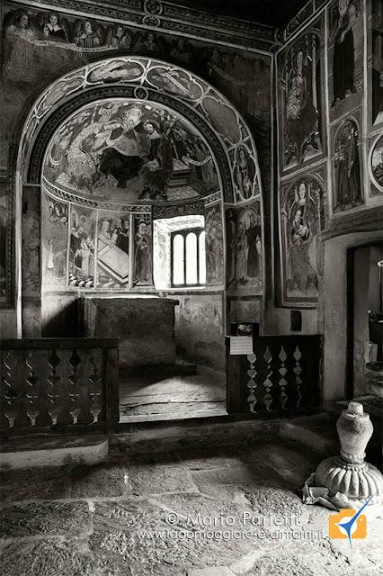 Il secondo abside di san Carlo a Negrentino