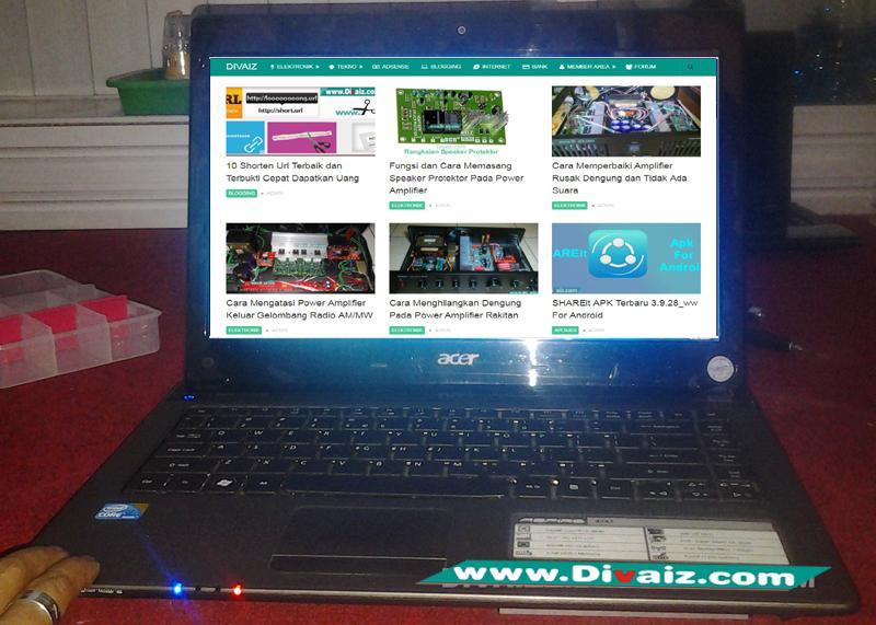 Cara Memperbaiki Laptop Acer Aspire 4743 Mati Total / Matot