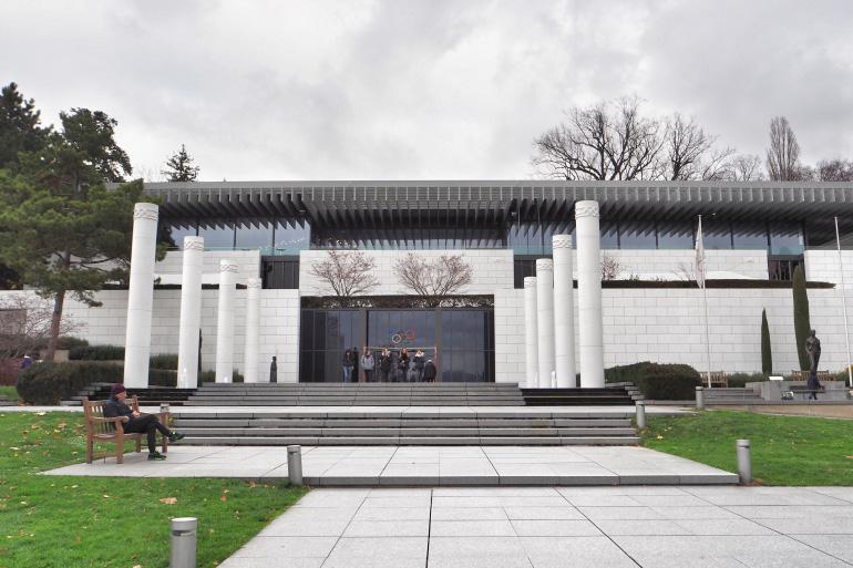 Musée Olympique à Lausanne en Suisse