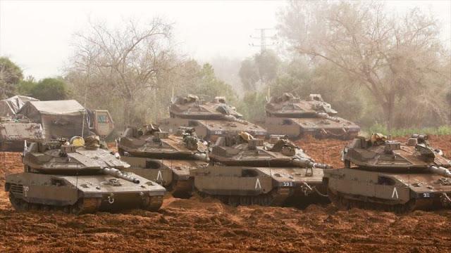 Ministro israelí amenaza con una operación terrestre contra Gaza