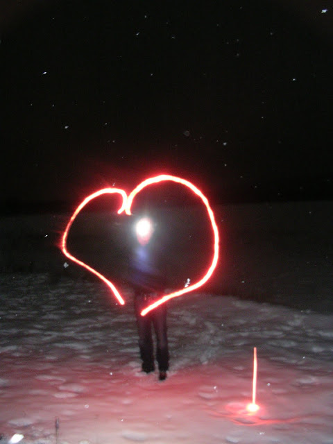 uusi vuosi valo sydän