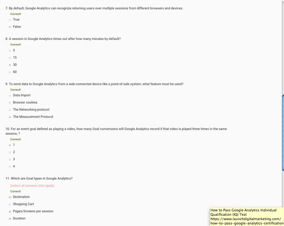 Advanced Google Analytics Assessment 1