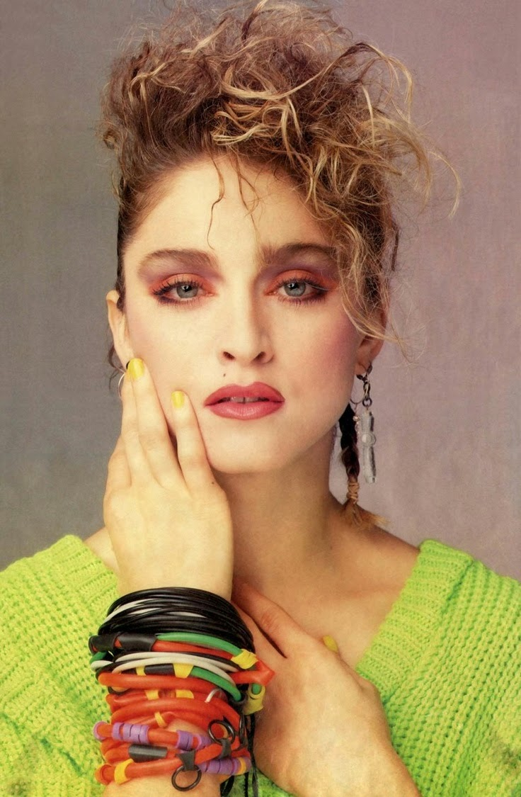 Tinklesmakeup: Eye makeup look 80's icon series : #4 Madonna