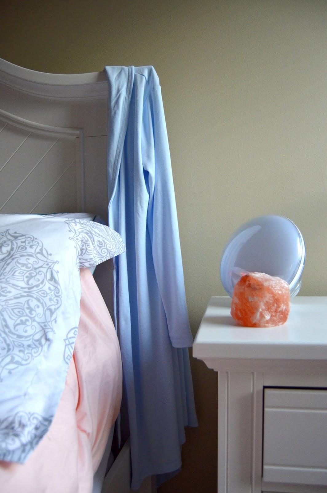 sunrise alarm clock, bedtime routine, sleep hygiene