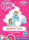 My Little Pony Wave 15A Rainbow Dash Blind Bag Card