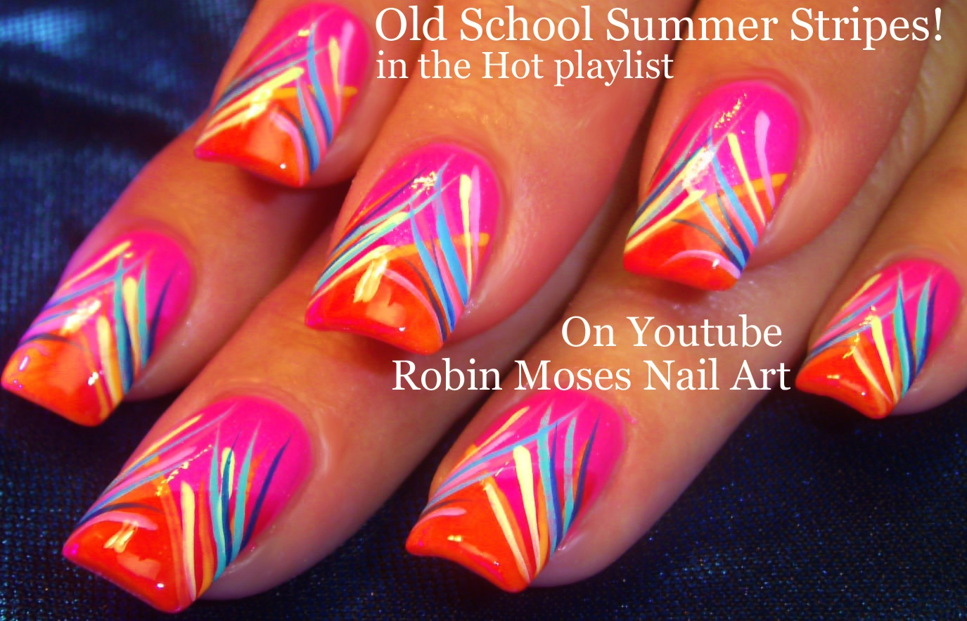 Nail Art by Robin Moses: May 2016