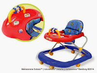 Baby Walker Family F2218L IC Music dan Roller Toy