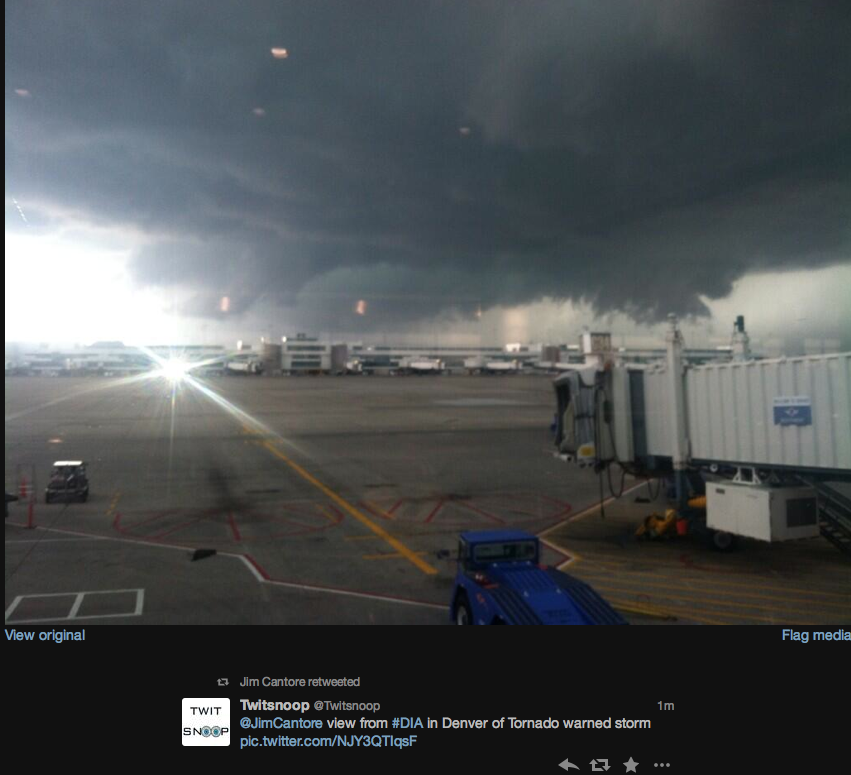 Mike Smith Enterprises Blog: Denver Metro: Tornado Warning