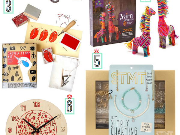 Crafters Gift Guide: DIY Kits