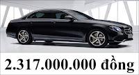 Giá xe Mercedes E200 2019 Sport