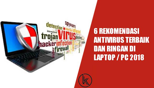 Antivirus Terbaik Dan Ringan Di Laptop / PC