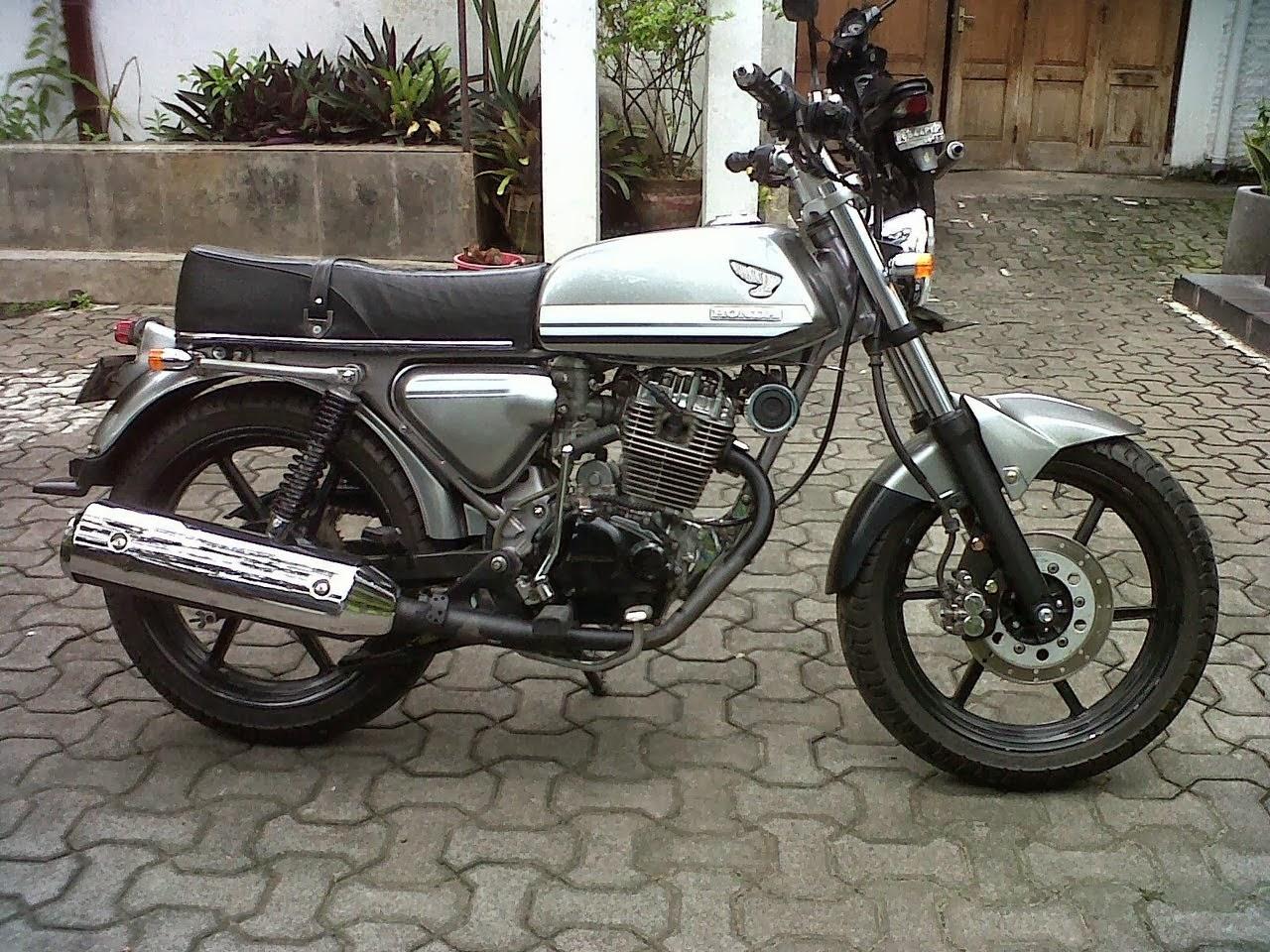 Gambar Modifikasi Motor Honda CB