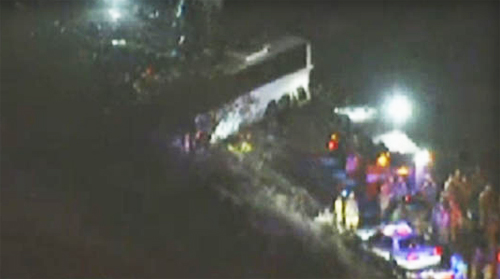 At Least 8 Dead, 17 Injured In Mentone Tour Bus Collision