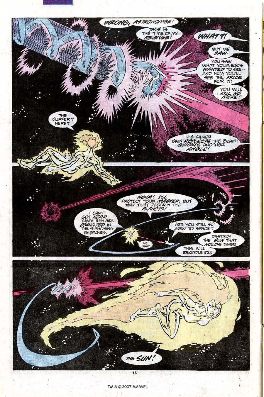 Read online Silver Surfer (1987) comic -  Issue #9 - 24