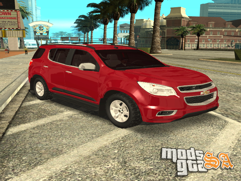 Chevrolet Trailblazer 2012 - Mods GTA San Andreas