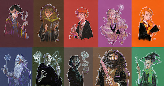 harry potter sketches...