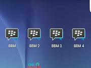 BBM Multi Clone (BBM1 + BBM2 + BBM3 + BBM4) Versi 3.3.2.31 APK Terbaru 2017