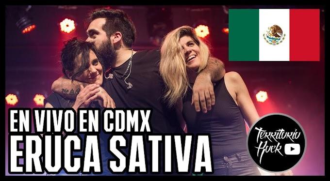 Eruca Sativa en vivo CDMX (VIDEO) - Mira el show completo aquí.