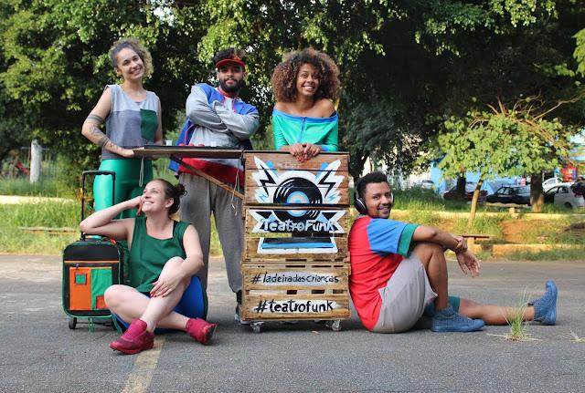 Rosas Periféricas comemora 10 anos com estreia de infanto juvenil cujo mote é teatro-funk