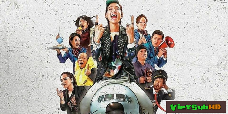 Phim Chuyến Bay Kỳ Quặc VietSub HD | Fasten Your Seatbelt 2014