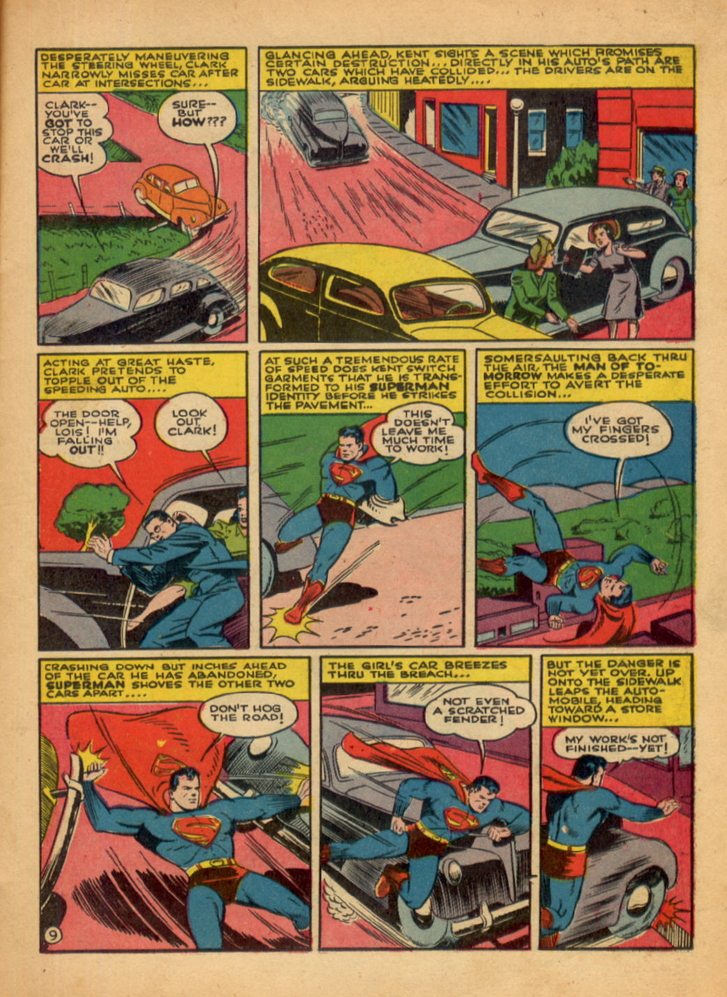 Read online Action Comics (1938) comic -  Issue #48 - 11