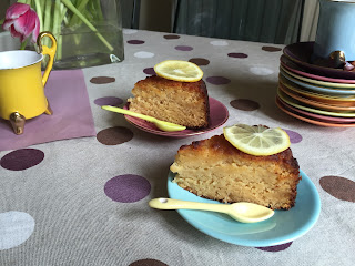 Gluten and Sugar free lemon cake by Appetit Voyage!