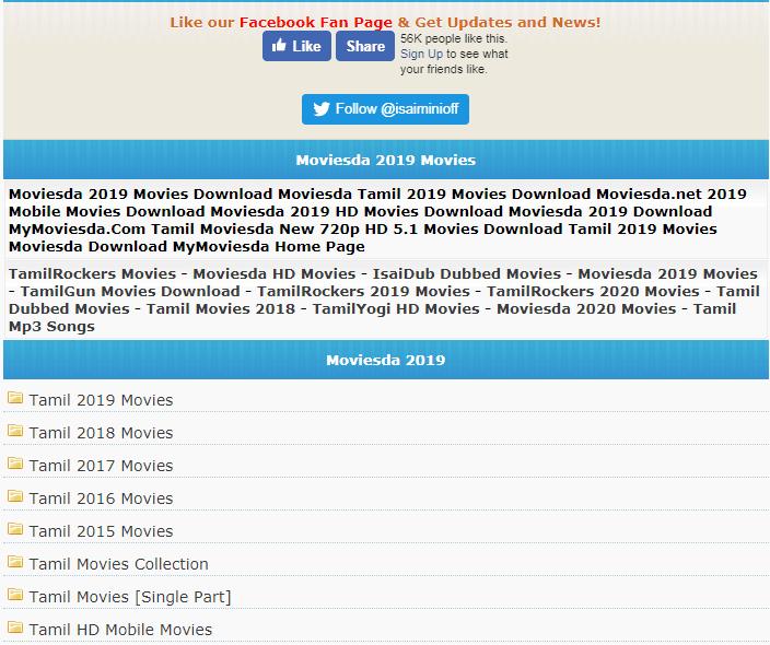 isaimini.com - Tamil Movies Download Review