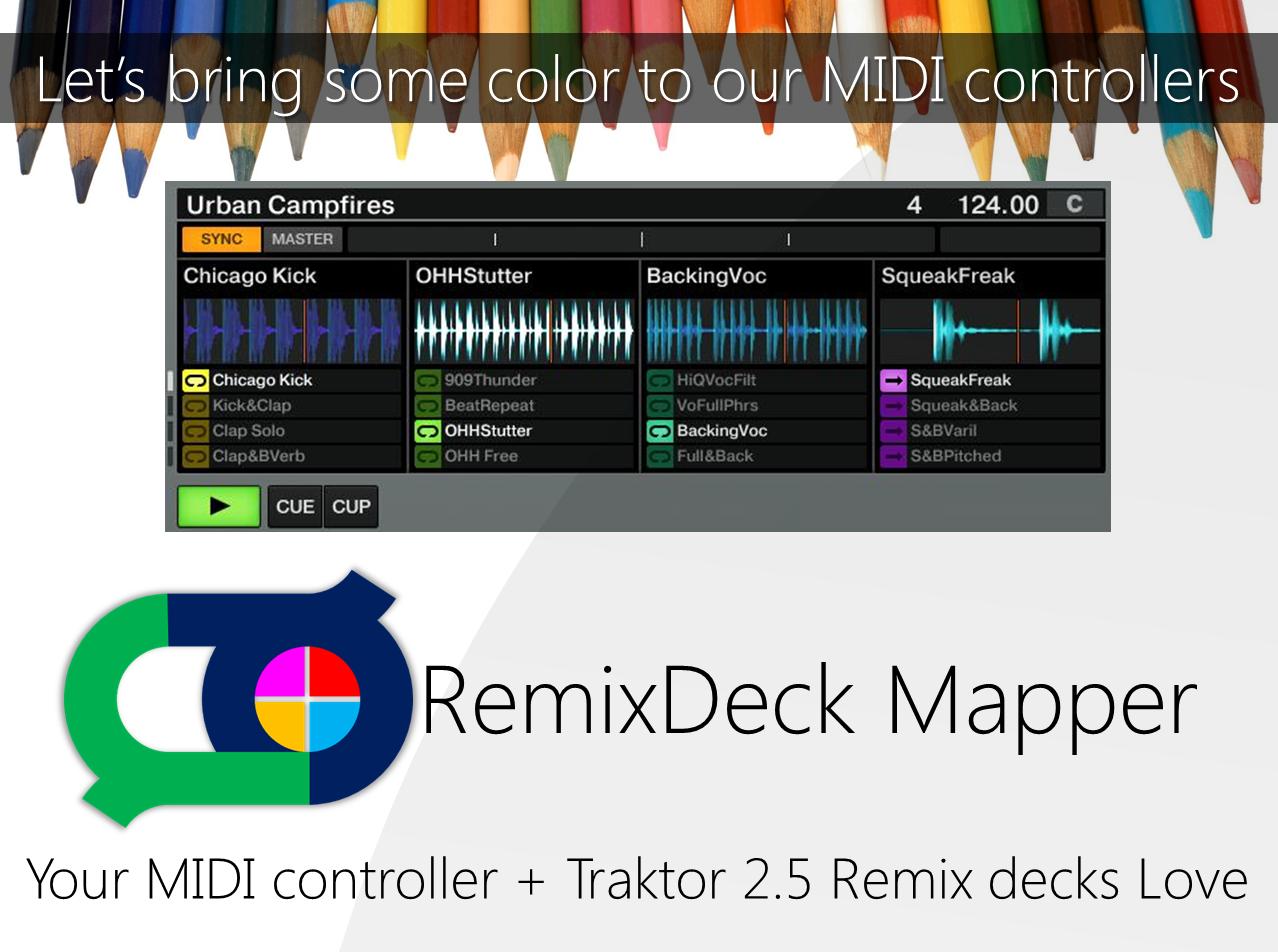 RemixDeck Mapper