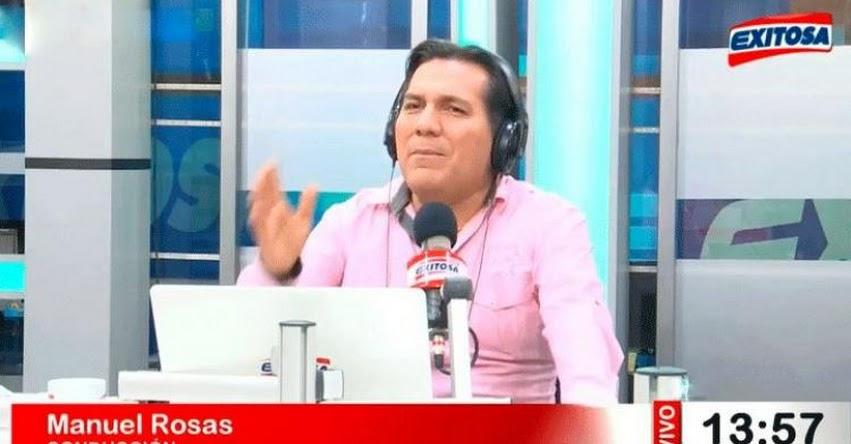 Manuel Rosas, periodista de Radio Exitosa renuncia tras parodia a su acento amazónico