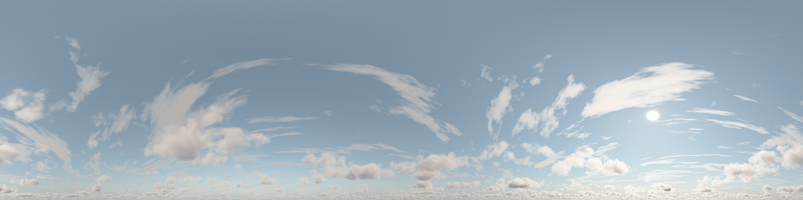 FREE Daylight Sky - Cumulus & AltoStratus Clouds - HDR | Redshift