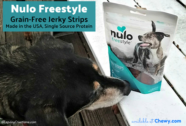 nulo dog treats senior rescue