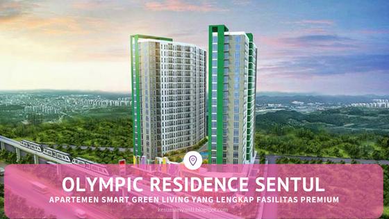 Olympic Residence Sentul, Apartemen Smart Green Living yang Lengkap Fasilitas Premium