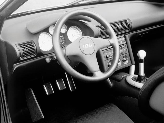Audi Quattro Spyder - interior
