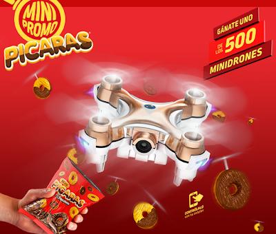 [Sorteo] Participa y gana uno de 500 Minidrones - Mini Promo Pícaras