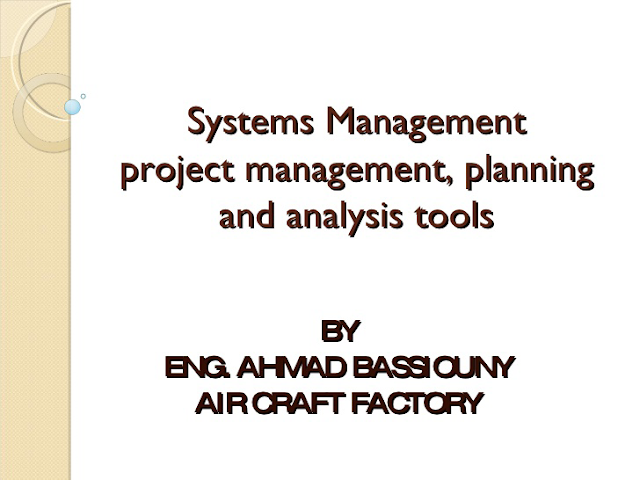 download Project Management, Planning and Analysis Tools pdf