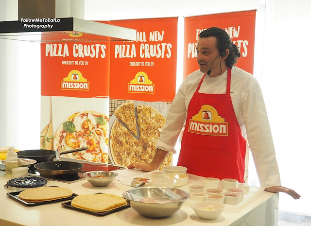 PIZZA MASTERCLASS DEMONSTRATION BY CHEF FREDERICO