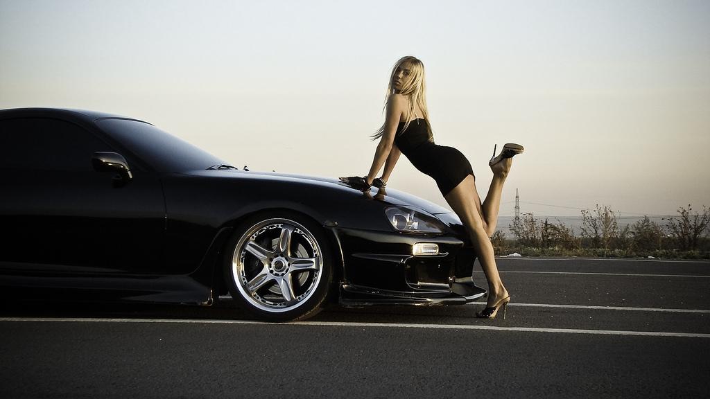 vehicles55.blo.com toyota supra hd wallpapers hot girl chick