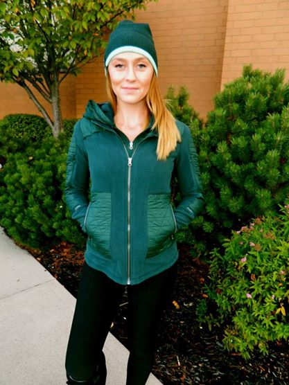 fuel green fleecy keen jacket vite vite toque