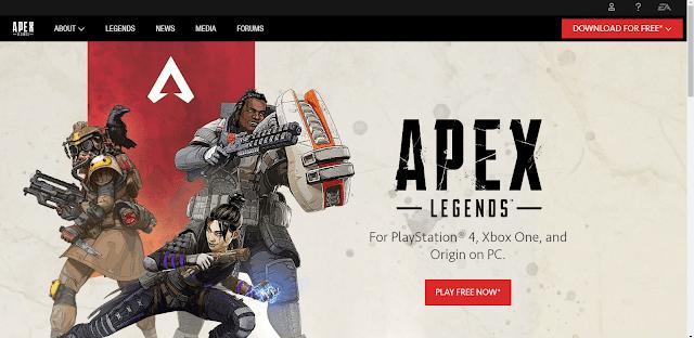 كيفية تحميل  Apex Legendsعلى جهاز الحاسوب(pc) والكس بوكس(xbox)والبلايستيشن(play staion)