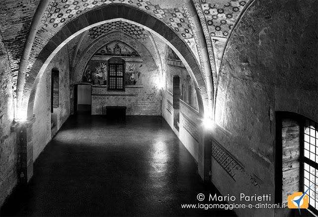 Sala di Giustizia nella torre Castellana della Rocca Borromeo di Angera