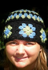 http://www.ravelry.com/patterns/library/granny-squares-and-stripes-hat-pattern
