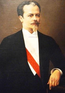 Retrato de Nicolás de Piérola a color