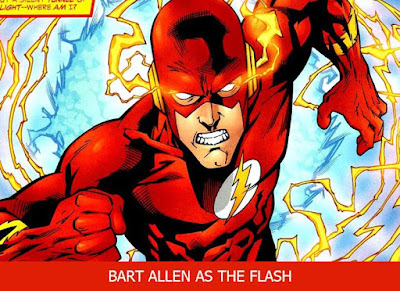 kekuatan the flash bart allen
