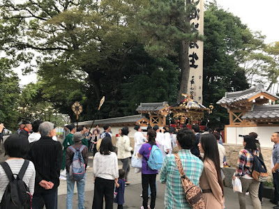 例祭神輿還御(平成28年10月9日)