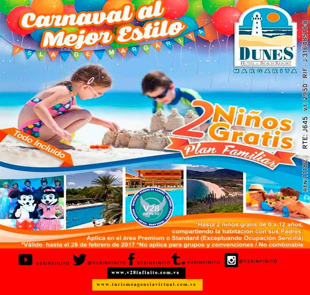 imagen Carnaval 2017  Margarita todo incluido Margarita