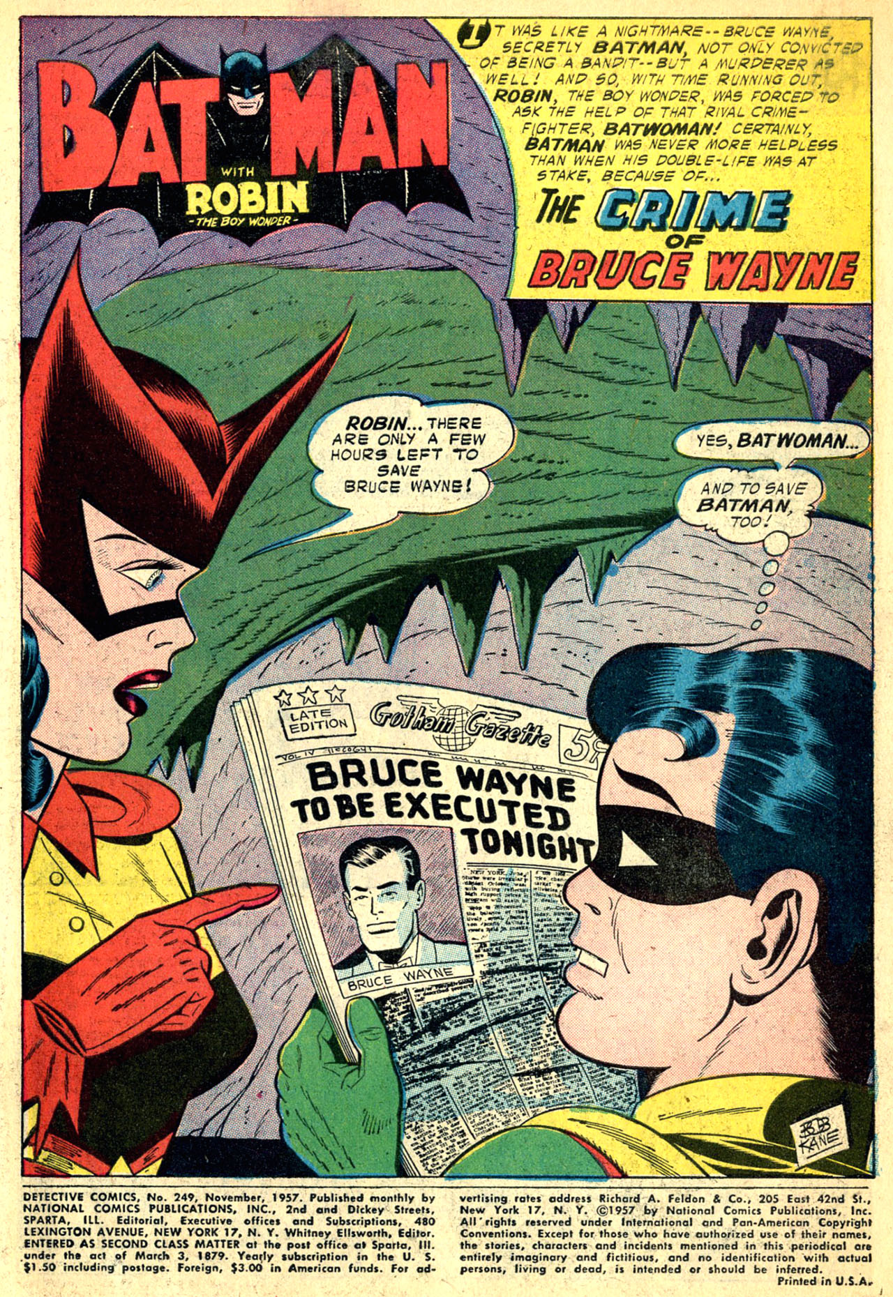 Read online Detective Comics (1937) comic -  Issue #249 - 3