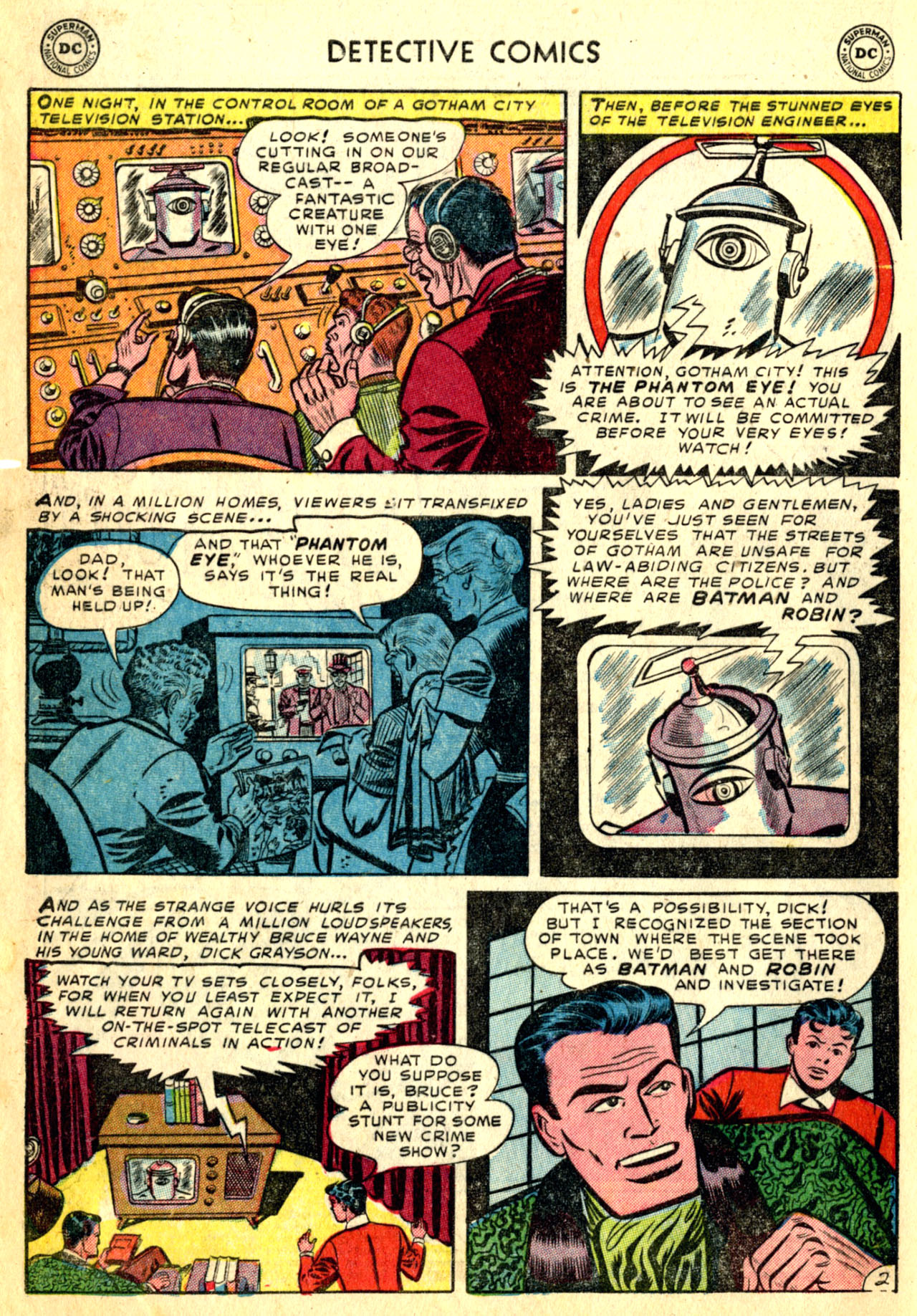 Detective Comics (1937) 192 Page 3