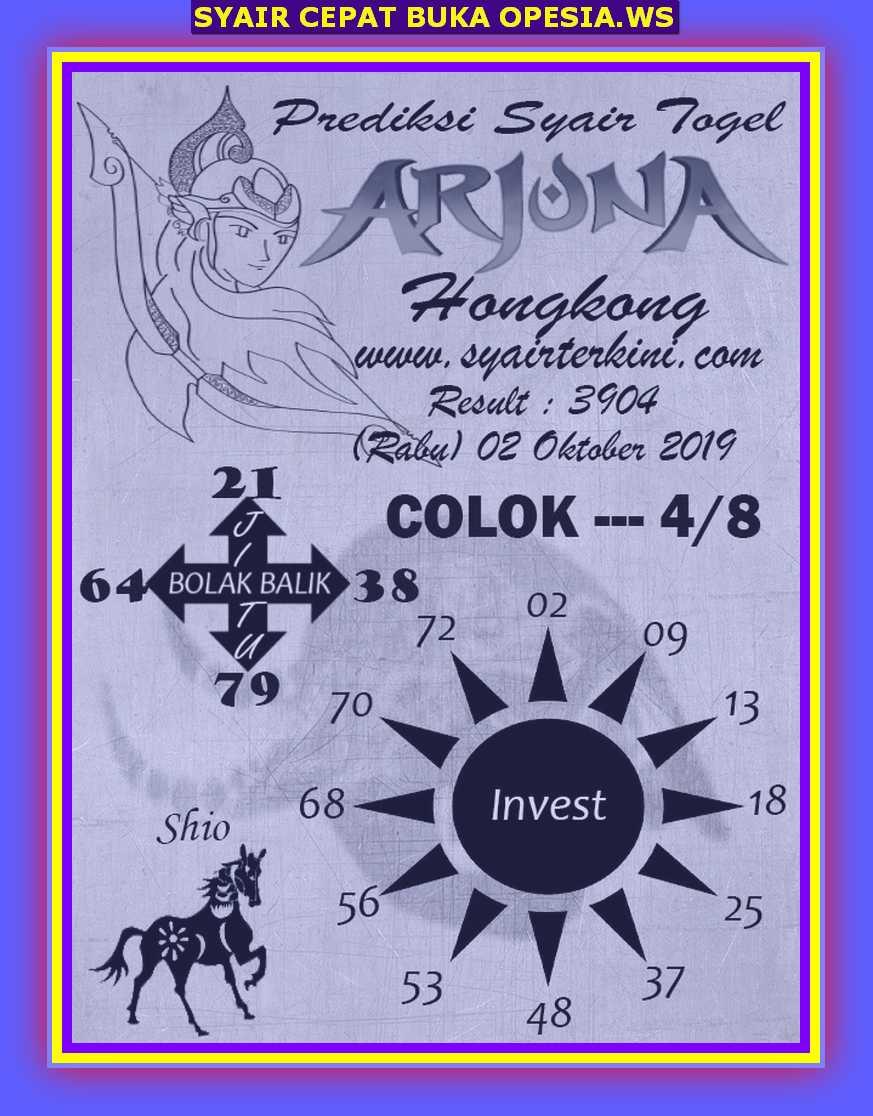 Kode syair Hongkong Rabu 2 Oktober 2019 39