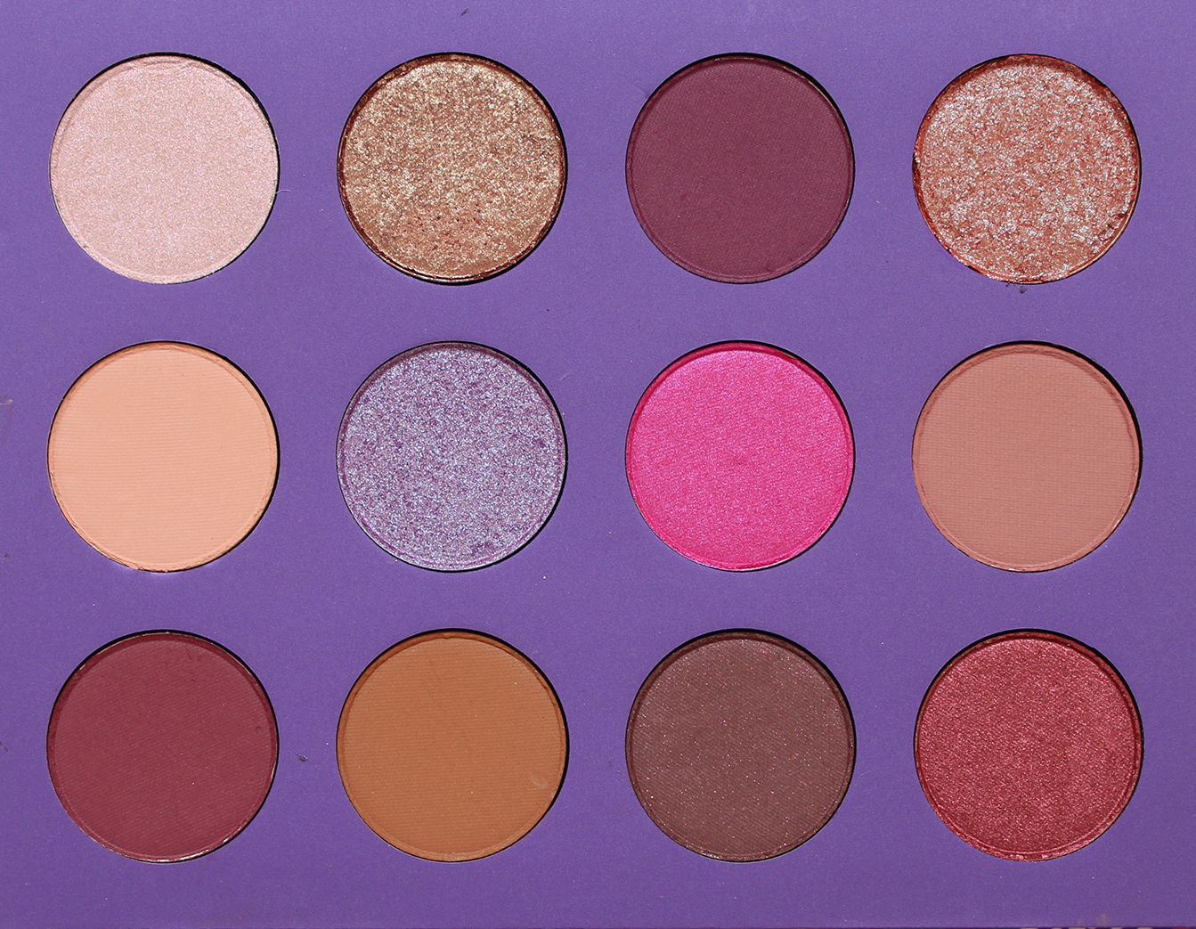 COLOURPOP | Element Of Surprise Pressed Shadow Palette - Review + Swatches - CassandraMyee